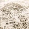 Brandthout Paris Wooden Wall Citymap