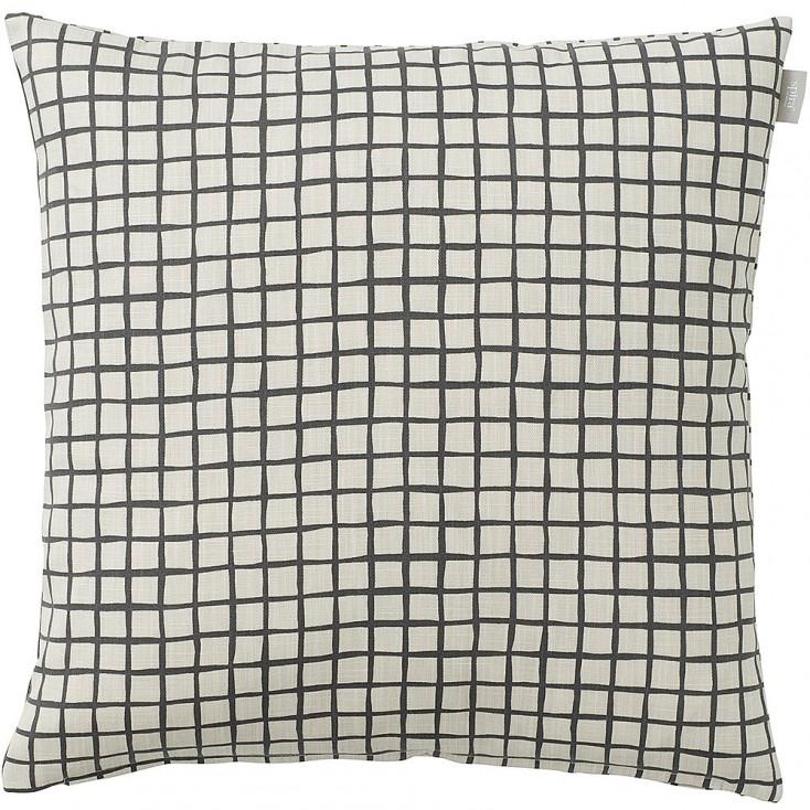 Spira of Sweden Ruta Cushion Cover - Asphalt