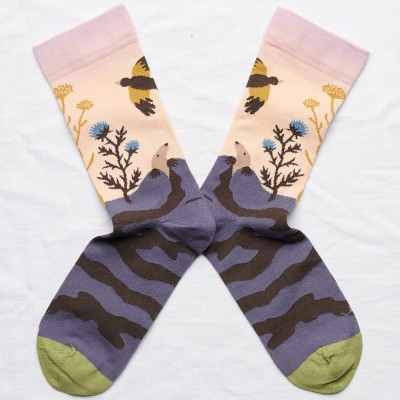 Bonne Maison Socks - Rosebud Mole