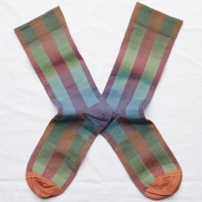 Bonne Maison Socks - Multi Check