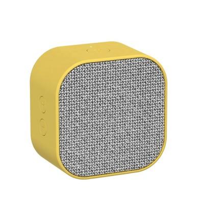 Kreafunk aCUBE Bluetooth Speaker - Fresh Yellow