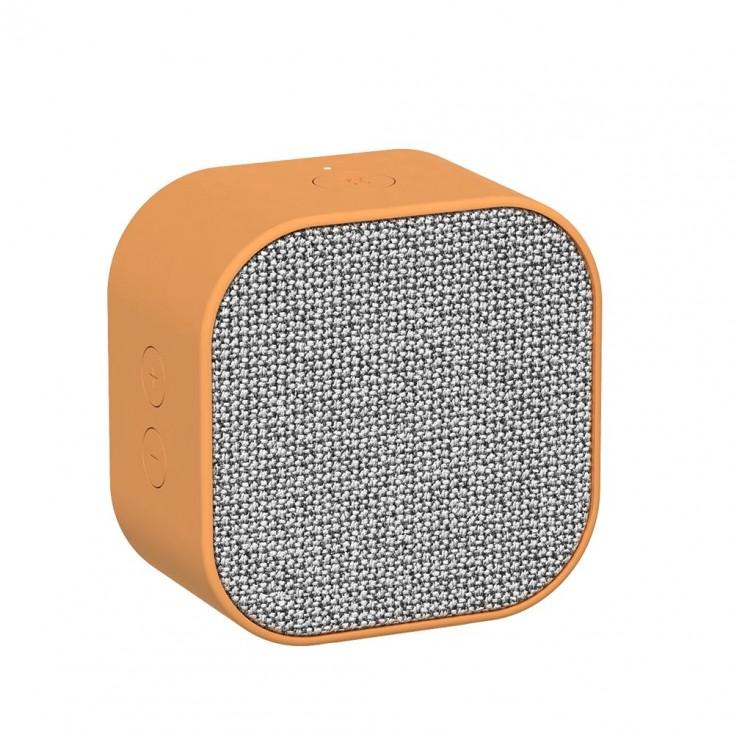Kreafunk aCUBE Bluetooth Speaker - Sunny Orange