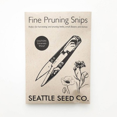 Seattle Seed Co. Forged Herb Snips