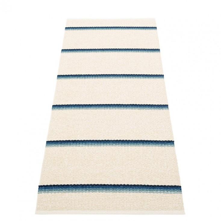 Pappelina Olle Runner - Blue 70 x 180 cm