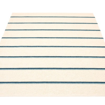 Pappelina Olle Large Rug - Blue 180 x 260 cm