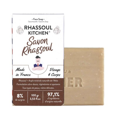Monsieur Barbier Rhassoul Kitchen - Face and Body Soap