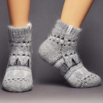 Siberia Spirit Winter Reflections Goat Hair Socks