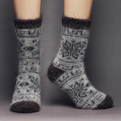 Siberia Spirit Northern Frost Goat Hair Socks