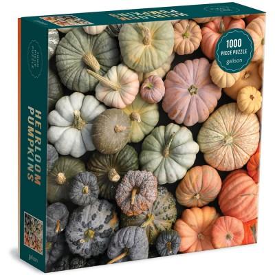 Galison Heirloom Pumpkins 1000 Piece Jigsaw