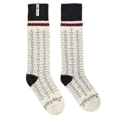 Öjbro Swedish Wool Socks - Ekshärad Kalk