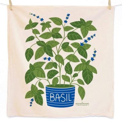 Basil Tea Towel - The Neighborgoods