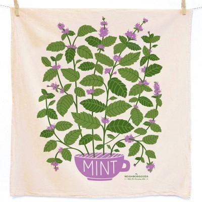 Mint Tea Towel - The Neighborgoods
