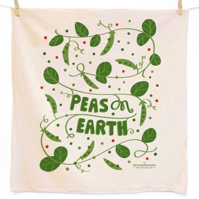 Peas on Earth Tea Towel - The Neighborgoods