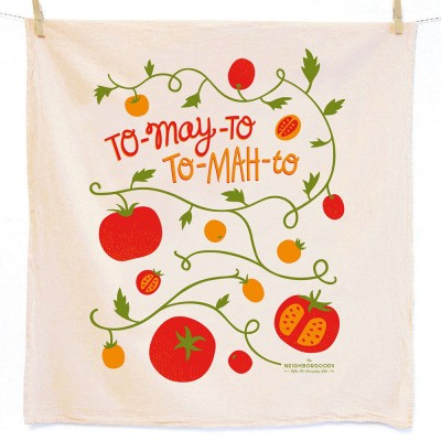 Tomato Tea Towel - The Neighborgoods