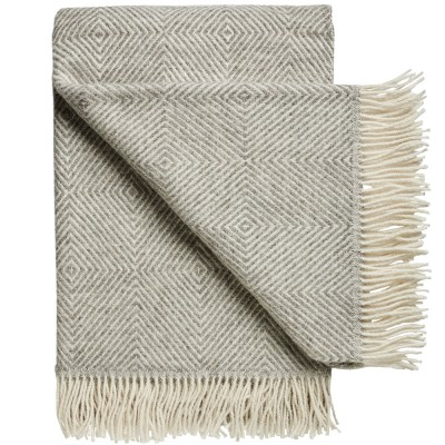Silkeborg Fanø Wool Throw - Light Nordic Grey