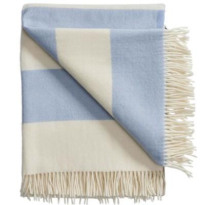 Silkeborg The Sweater Wool Throw - Blue