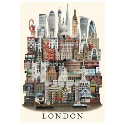 Martin Schwartz London City Poster - 50 x 70 cm