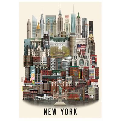 Martin Schwartz New York City Poster - 50 x 70 cm