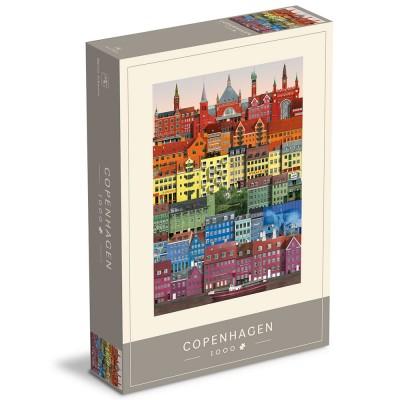 Martin Schwartz Copenhagen Rainbow Jigsaw - 1000 Piece