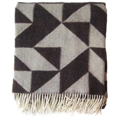 Twist A Twill Chocolate Blanket