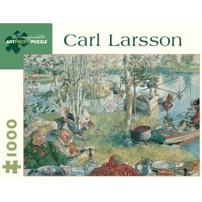 Pomegranate Carl Larsson's Crayfishing 1000 Piece Jigsaw Puzzle