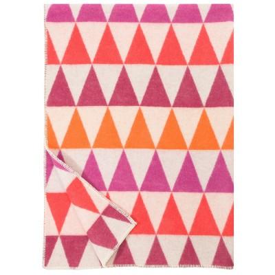 Lapuan Kankurit Pink Harlekiini Wool Blanket