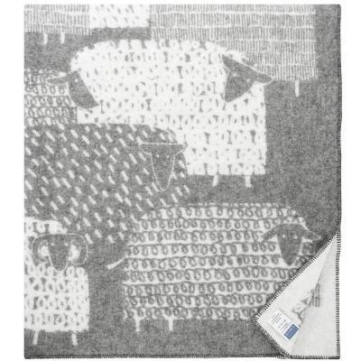 Lapuan Kankurit Grey & White Päkäpäät Blanket
