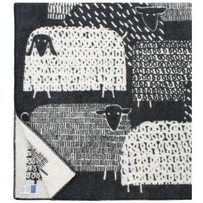 Lapuan Kankurit Black & White Päkäpäät Blanket