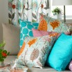 Spira Haga Cushion Cover - Turquoise