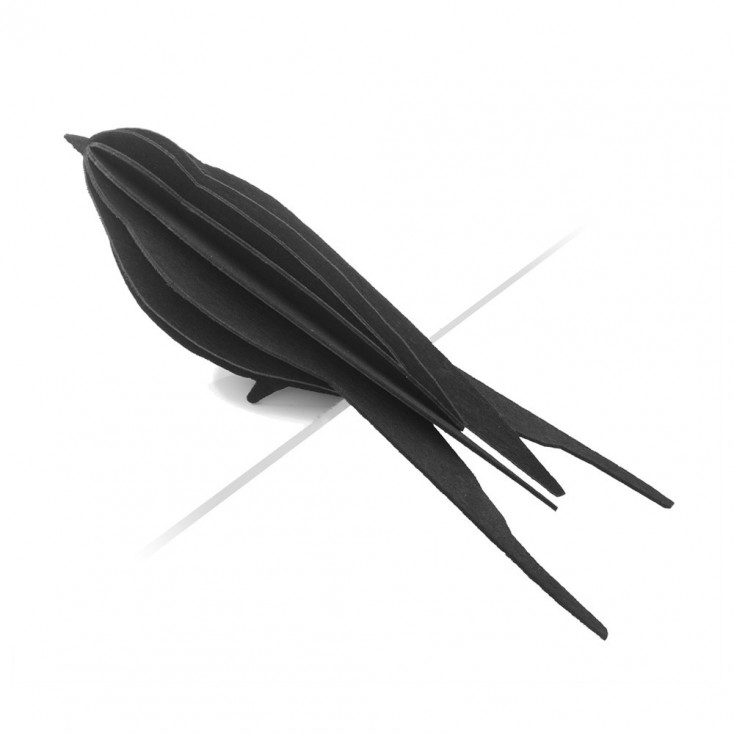 Lovi Little Birch Ply Swallows - Black