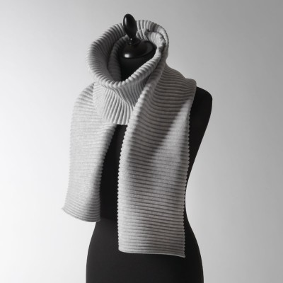Design House Stockholm Silver Grey Long Pleece Scarf