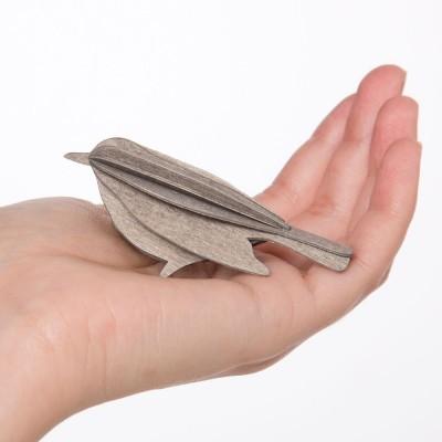 Lovi Little Birch Ply Blackbirds - Grey