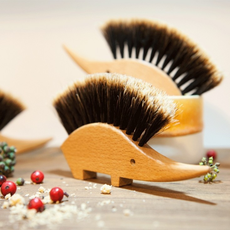 Ombre Horsehair Hedgehog Brush