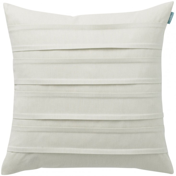 Spira Double Pleat Ivory Cushion