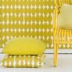 Spira Vilma Mustard Cushion