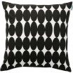 Spira Vilma Black Scandinavian Cushion