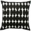 Spira Vilma Black Scandinavian Cushion