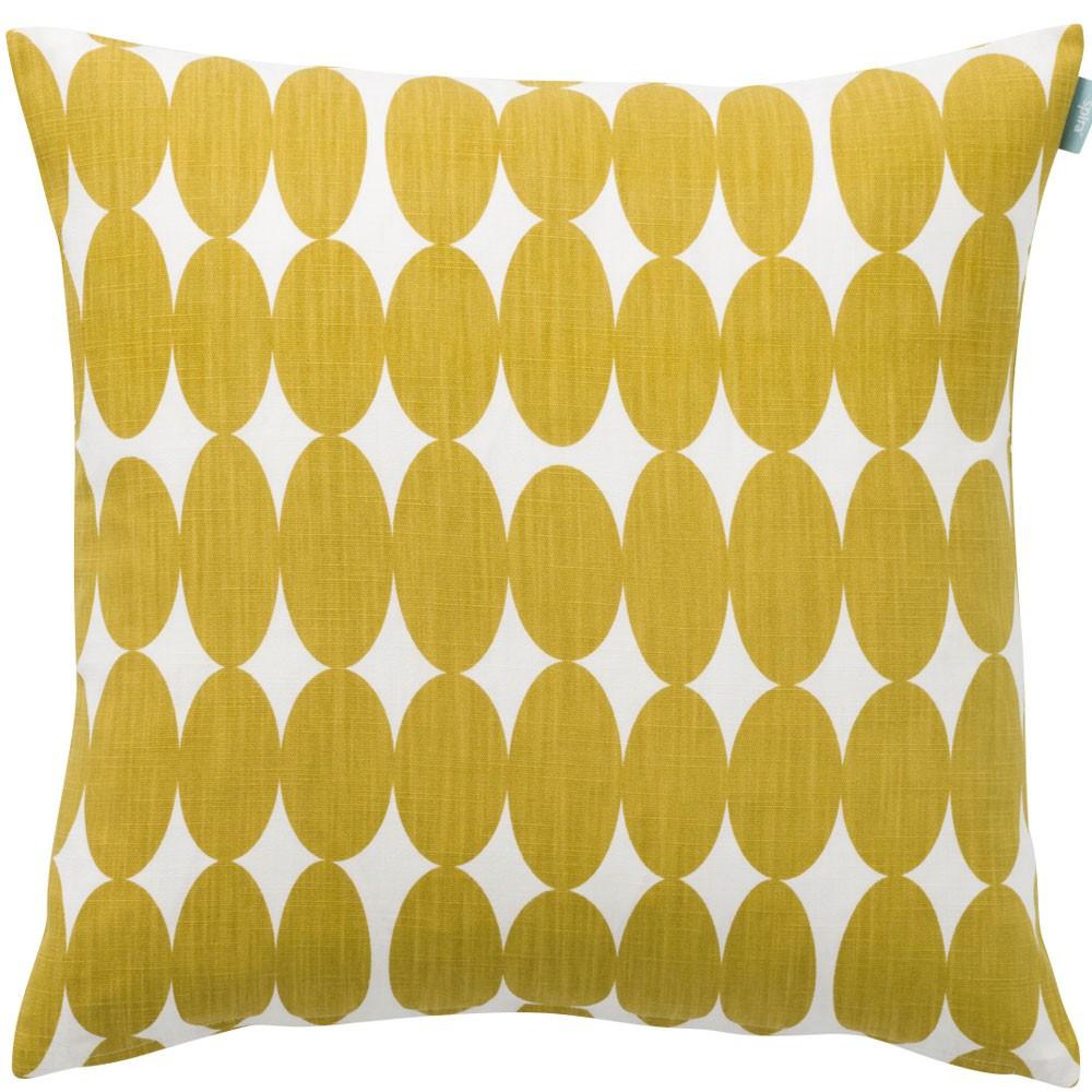 Vilma Mustard Scandinavian Fabric By Spira Of Sweden Hus