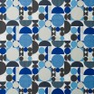 Spira Anita Blue Scandinavian Fabric
