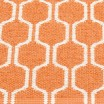 Pappelina Ants Pale Orange & Vanilla Mat - Detail